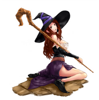 Sorceress by lordless