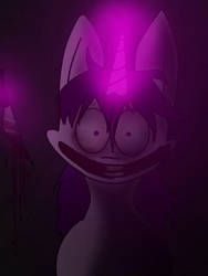 Th experiments of twilit sparkle  by clawsthecreepypasta