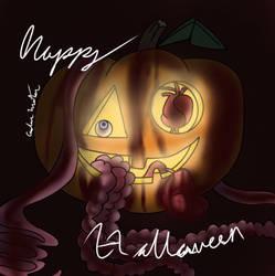 Pumpkin guts by clawsthecreepypasta