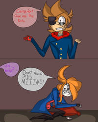 Carry and eddsworld tord comic, cause Im bored by clawsthecreepypasta