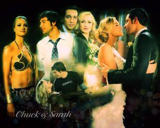 Chuck and Sarah by sweeneytodd1908