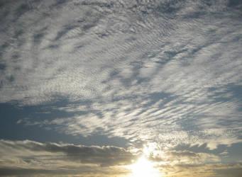 Sunset sky by Darklunai