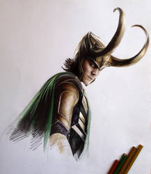 Loki by MaryRiotJane