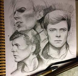 David Bowie by MaryRiotJane