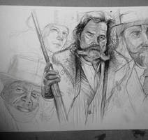 The Hateful Eight by MaryRiotJane