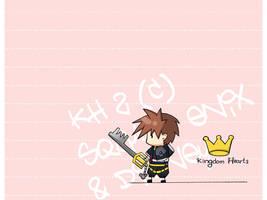 KH - chibi sora wallpaper by code-re