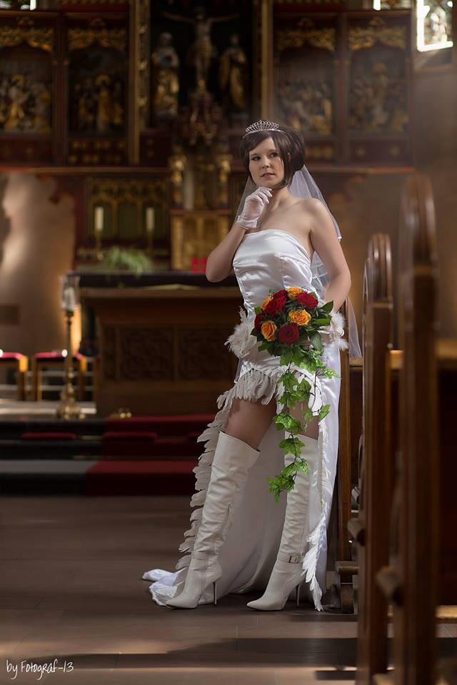 Yuna Wedding Dress Final Fantasy X By Melmon On Deviantart