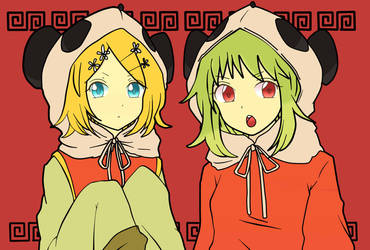 Rin and Gumi by Thomis-Pick