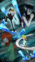 Adventure Time - Ice Battle! by Prelloyd