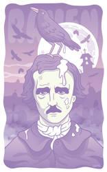 Edgar Allan Poe by ValeXn