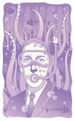 H.P Lovecraft by ValeXn