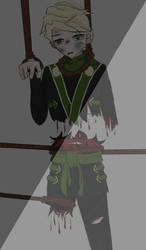 ninjago lloyd by urukiandsirika