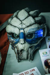 Garrus mask. 1st build. by liqsun307