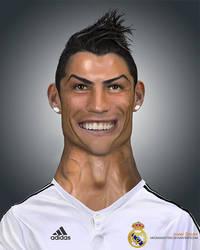 Cristiano Ronaldo - Caricature by mediamaster