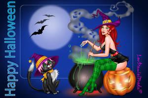 Happy Halloween 01 by LeoDanielPreda