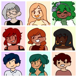 Doodley Icons by fairyquartz