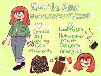 Meet the Artist + What's in my bag by fairyquartz