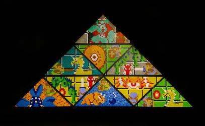 The Legend Of Zelda Triforce Montage by NestalgicBits