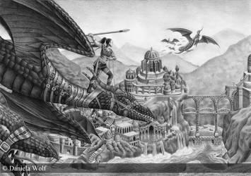 Dragon Surfer by Svera