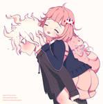 Nagito and Chiaki by pankiwicakes