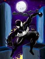 Symbiote Spider-Man by ManualDanual