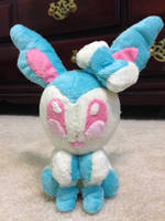 Shiny Sylveon Plush by lillyann123