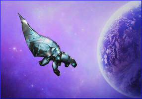 Mass Effect mini Reaper papercraft by ALIENmantis