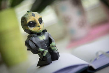 Mass Effect chibi Thane papercraft by ALIENmantis