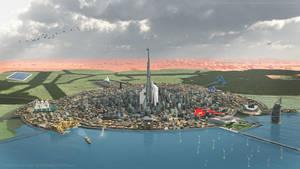 Future City by MohamedAlnuaimi