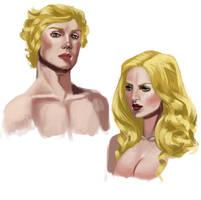 ASOIAF - Jaime and Cercei by Krissy-Vee
