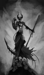 Hel - Reaper Concept wip by Krissy-Vee
