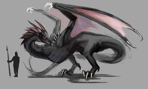ASOIAF - Drogon by Krissy-Vee
