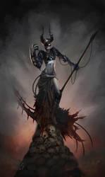 Nameless Demon by Krissy-Vee