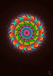Mandala Art Wallpaper Mobile Version by firefighters