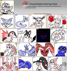 ''My Favourite Pokemon'' Meme by HHog