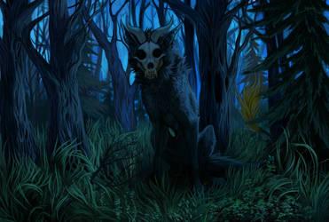 [commission] midnight dweller by FeurigenSatan