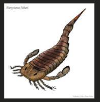 Eurypterus sp. by VoltaireArts