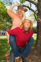 Ride 'em CowGirl! by harukaplanetpower