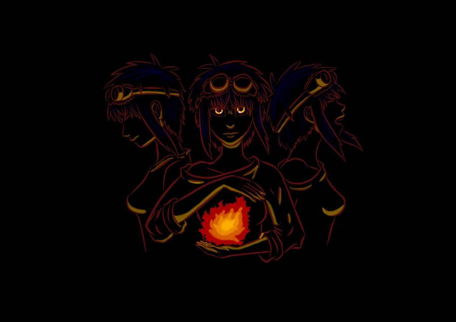 In Anger I Burn by Nezumiiro-Kumori
