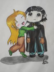 hugs by firemoonhalk