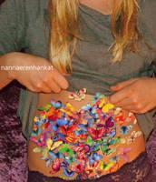 you give me butterflies by nannaerenhankat