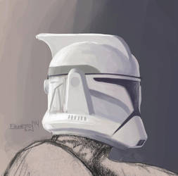 Clone Trooper life drawing model by ernesin149