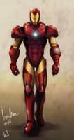 Iron Man by Vensin