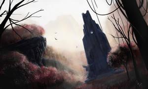 Jungle Obelisk by Vensin