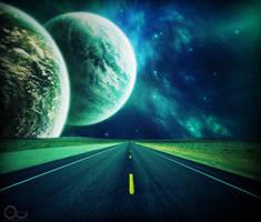 Galaxy Road by nickizen