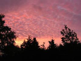Cloudy Sunrise by JocelyneR