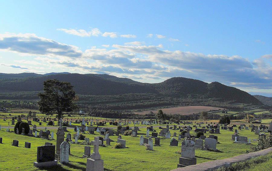 The Village Cemetery by JocelyneR
