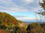 Along the Village in Autumn by JocelyneR
