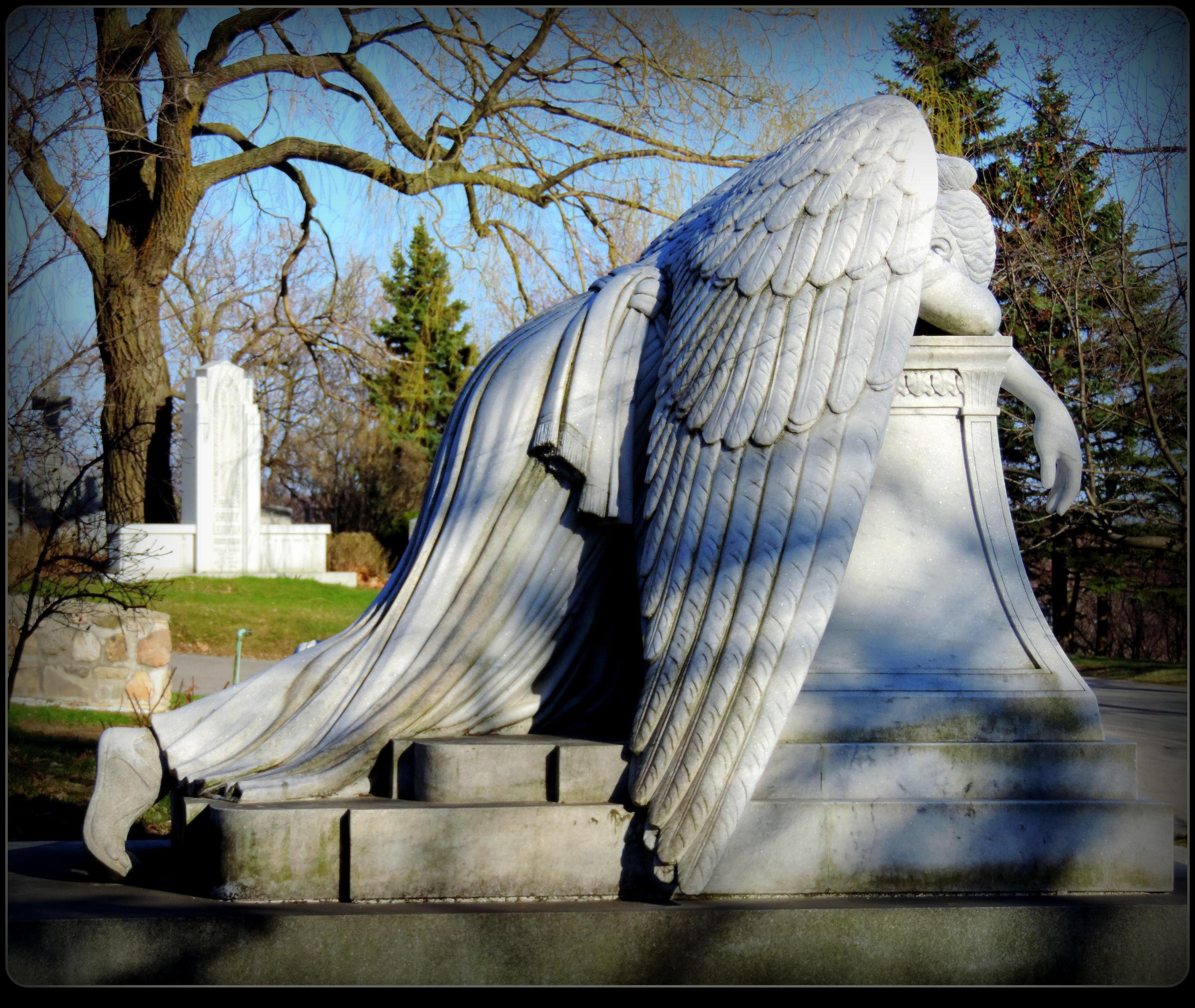 Angel Of Grief by JocelyneR