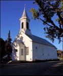 Small Wooden Church by JocelyneR